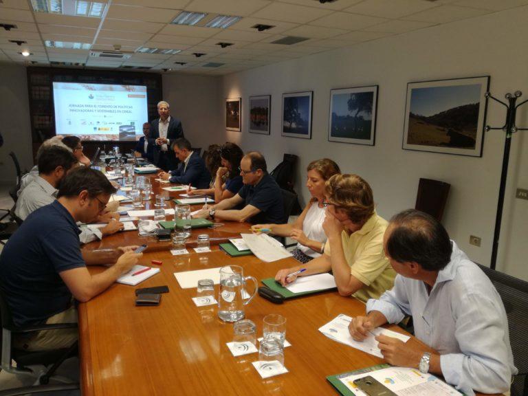 La Junta de Andalucía apoya a Innovatrigo en su apuesta por la innovación y la sostenibilidad en cultivos extensivos